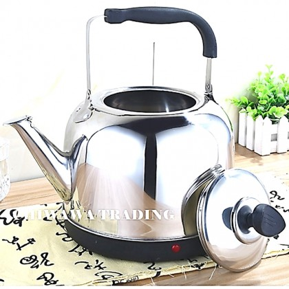 【Malaysia 3-Pin Plug】5L 7.5L Stainless Steel Electric Heating Whistling Kettle Automatic Cut Off Jug Teapot / Cerek