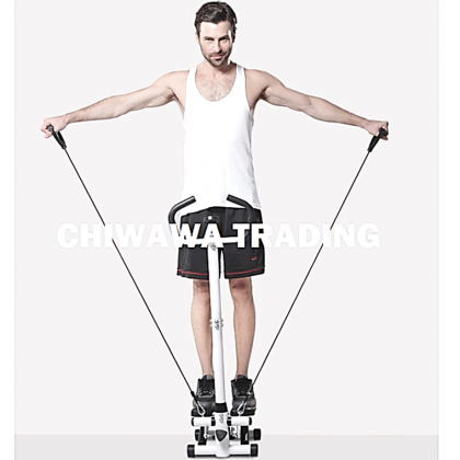 【2pcs Resistance Band】 Exercise Stepper Sport Gym Fitness Slimming Machine