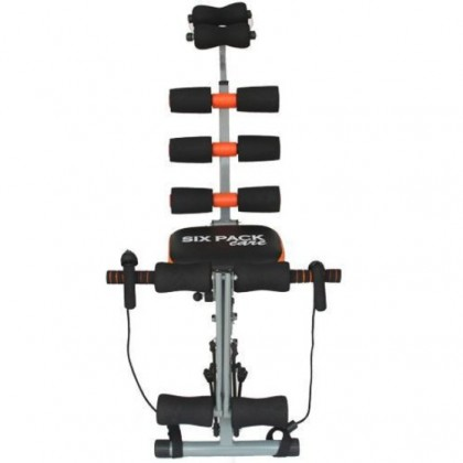 Six Pack Abs Gym Fitness Exercise Bench Sit Up Machine + Resistance Band